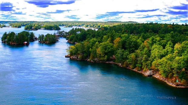 Река и острова